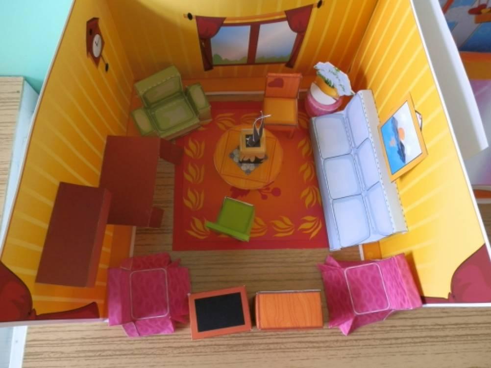 Картинки макет комнаты для детей