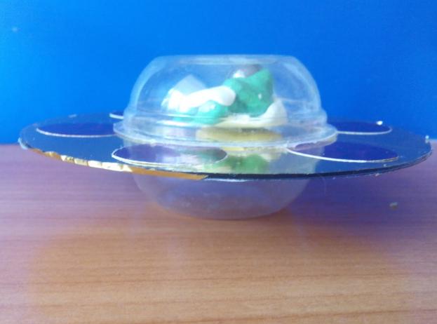 Инопланетная тарелка своими руками 67