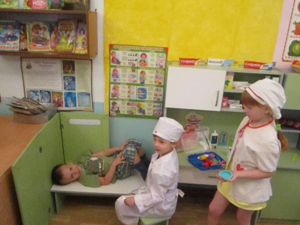 занятие знакомство детей с профессиями в