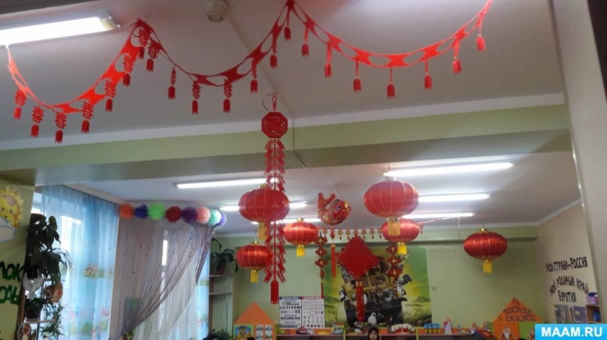 Оформление помещения «Здравствуй, Новый год!»