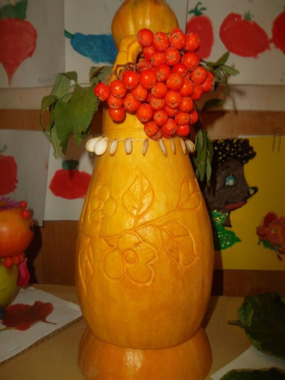 Поделки для выставки из овощей