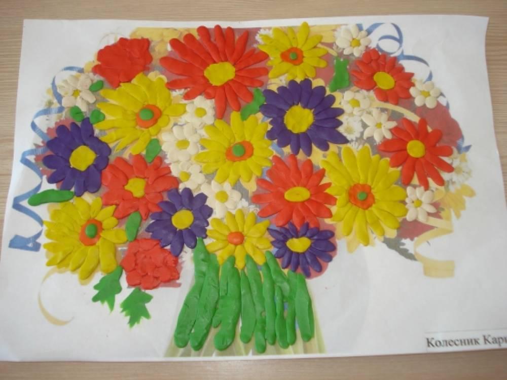 Весенний букет в доу — pic 12