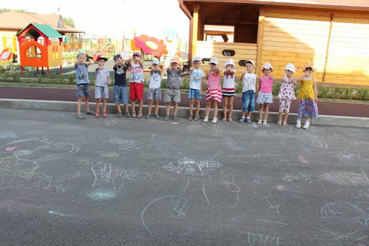 Прогулка в детском саду выносной материал