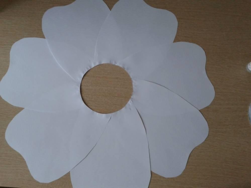 Цветы своими руками ватман 508