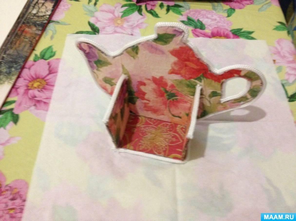 Для чайных пакетиков мастер класс