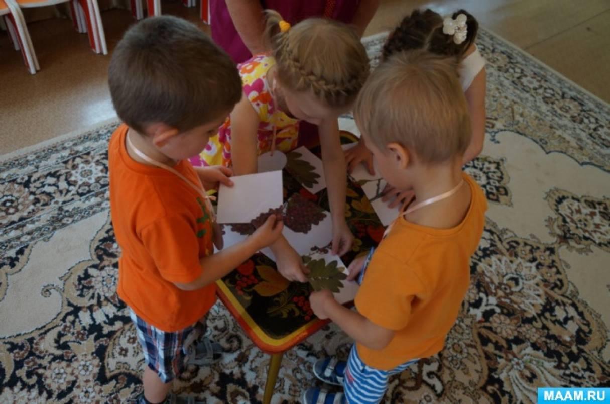 Рябина в детском саду