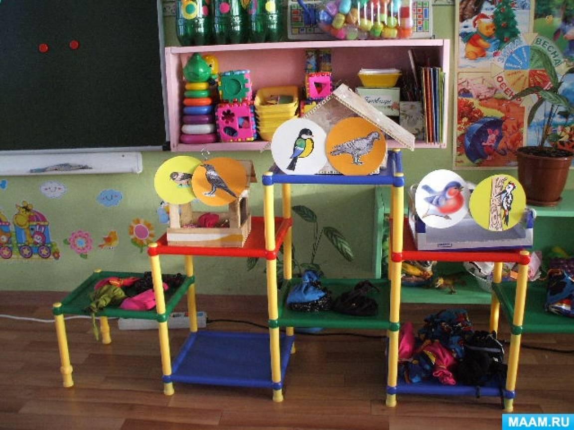 Конспект непосредственно образовательной деятельности по развитию связной речи «Зимующие птицы» с детьми 3–4 лет