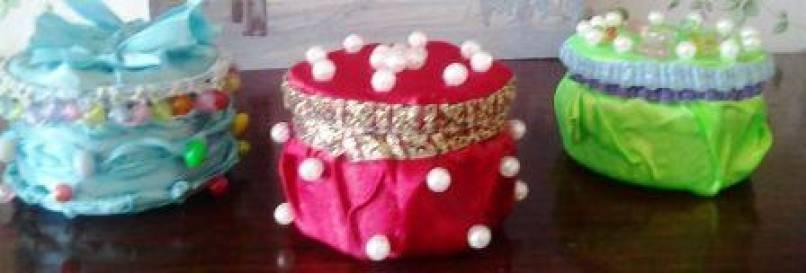 «Шкатулочки» в подарок коллегам к празднику 8 марта.
