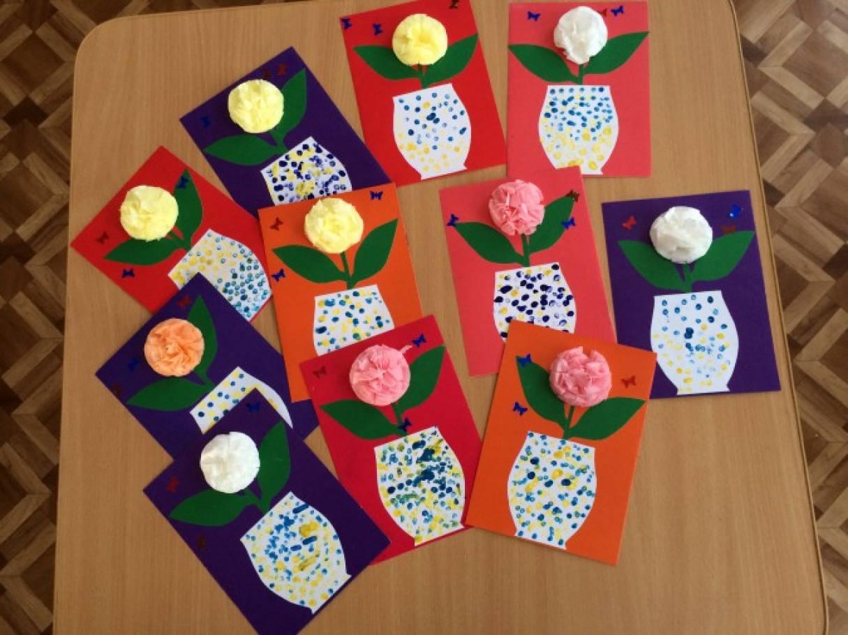 Группы с открытками