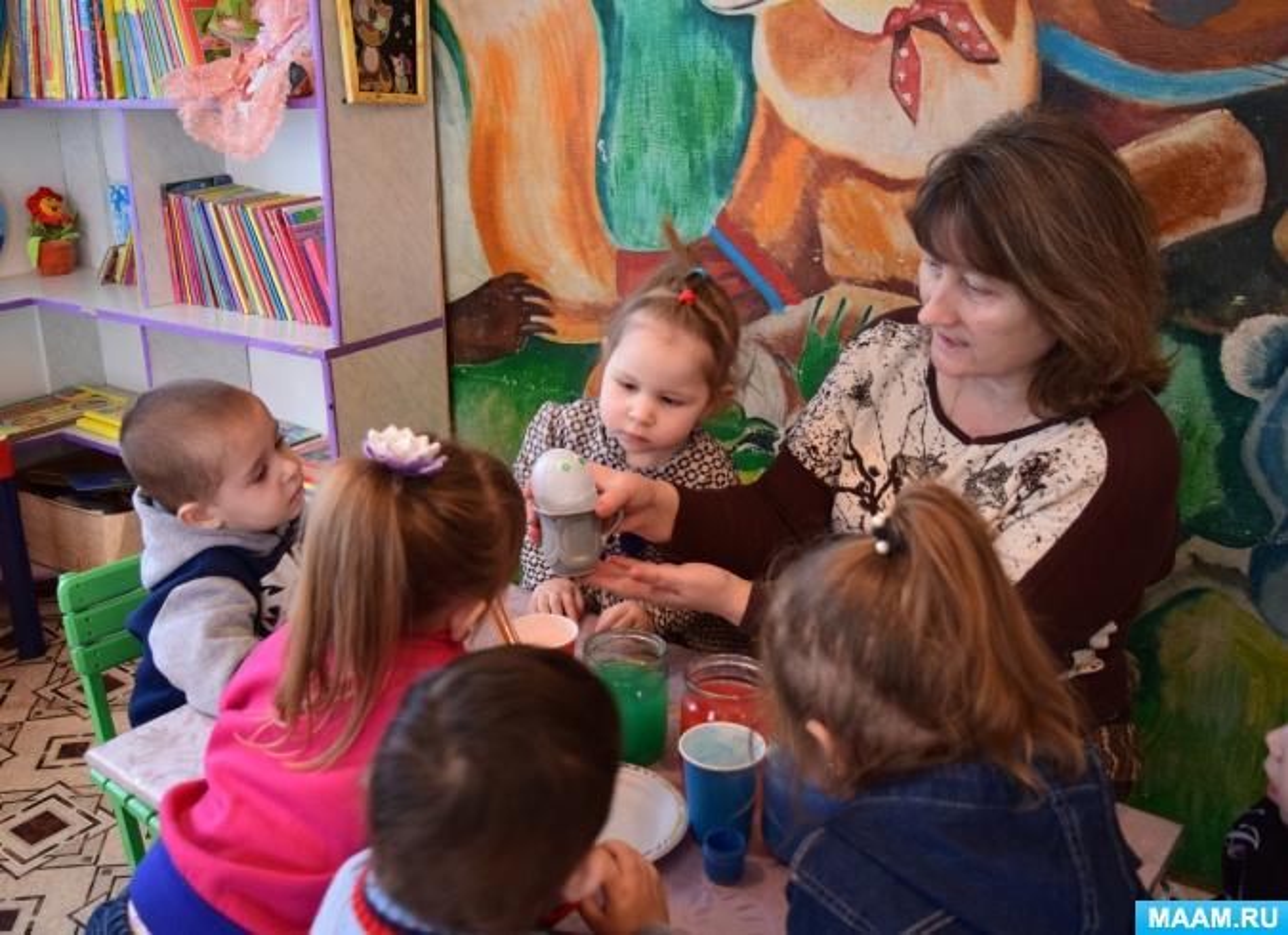 Фотоотчёт «Девочка Льдинка и другие превращения воды» или как мы провели День детских изобретений
