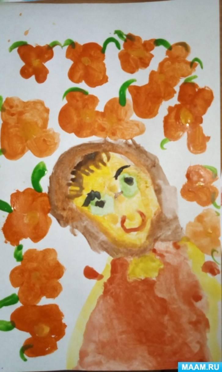 Фотоотчет «Портрет мамы»