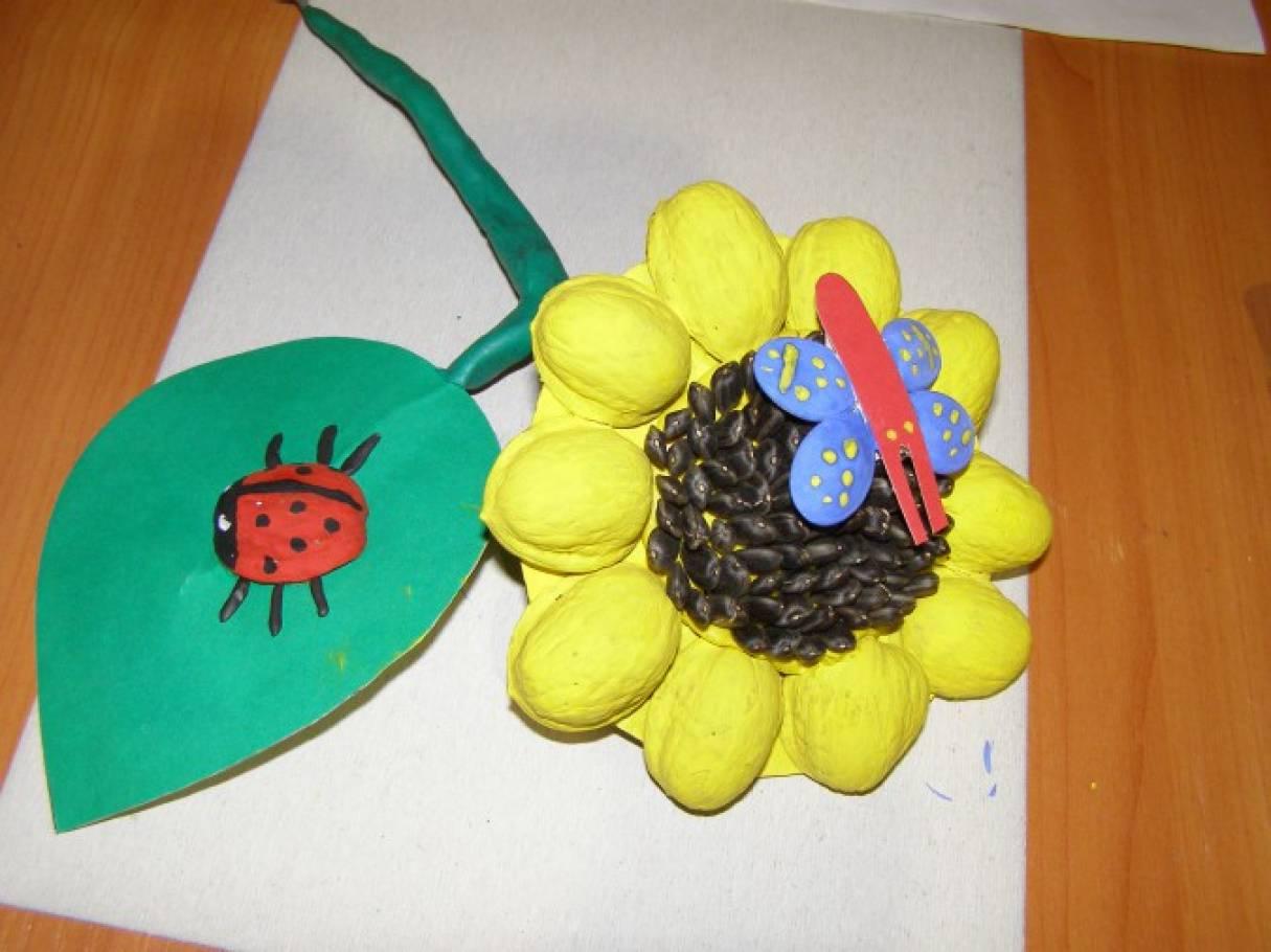 Поделки из семечек подсолнуха для детей 5