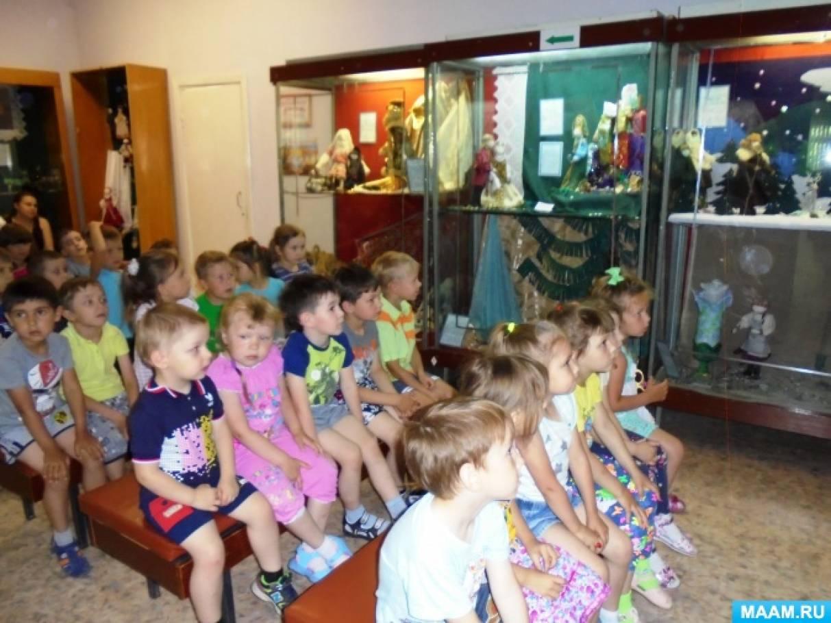 Фотоотчет о посещении краеведческого музея города Асбеста