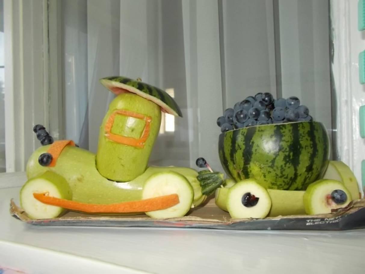 Домики из овощей и фруктов своими руками 6