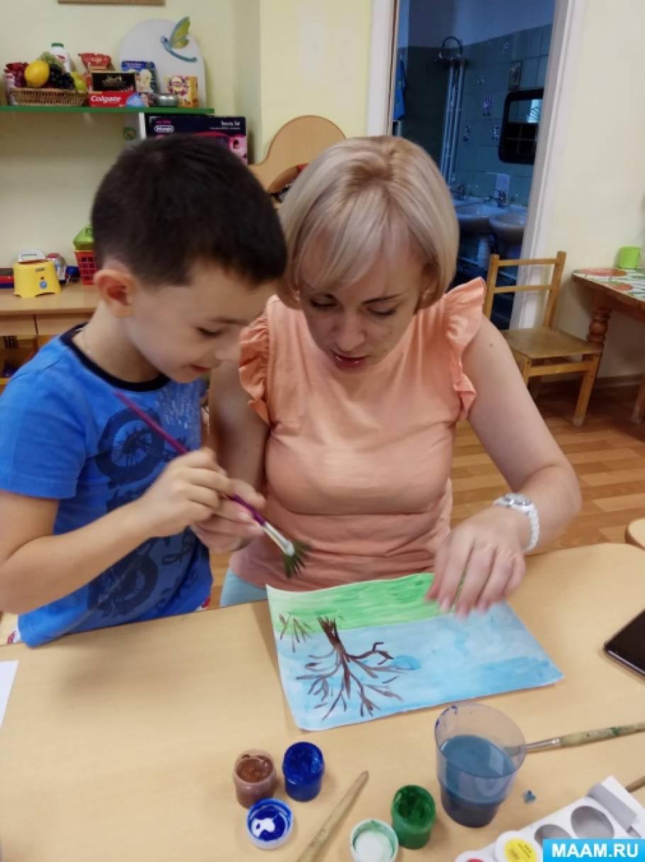 Мастер-класс по рисованию и аппликации для детей и их родителей «Винни Пух и все, все, все»