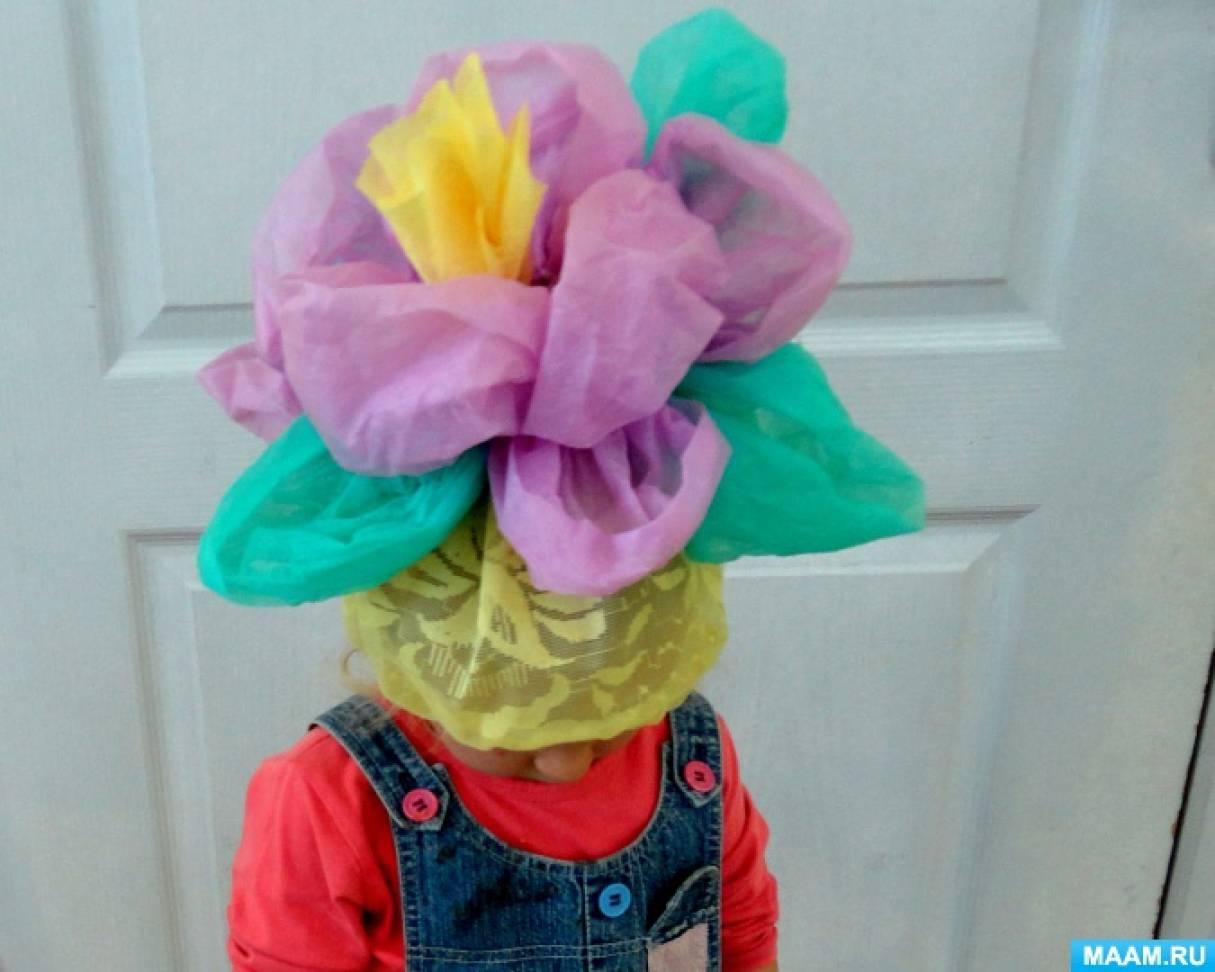 Цветки для шапочек своими руками 391