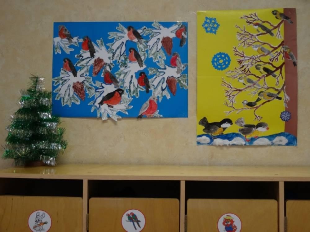 Детей по теме зимующие птицы фото