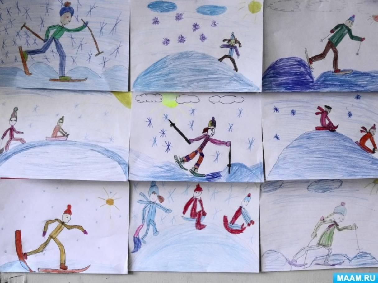 что картинки н тему зимний спорт старшая группа фото видите печь