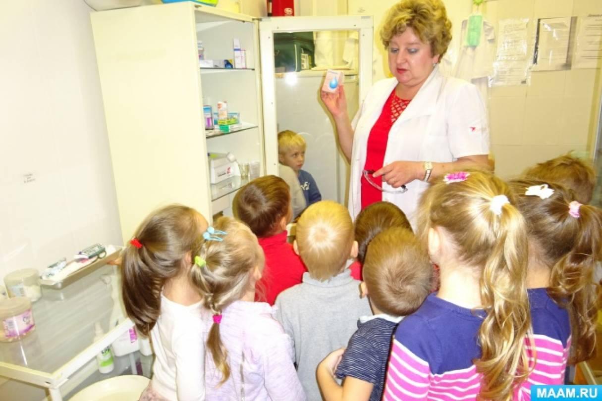 знакомство с термометром в детском саду