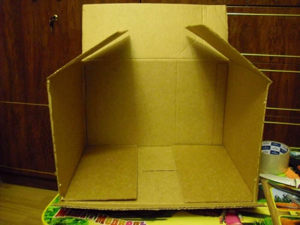 Макет в коробке своими руками 85