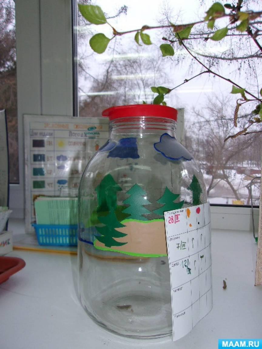 Конспект занятия в подготовительной группе «Круговорот воды в природе»
