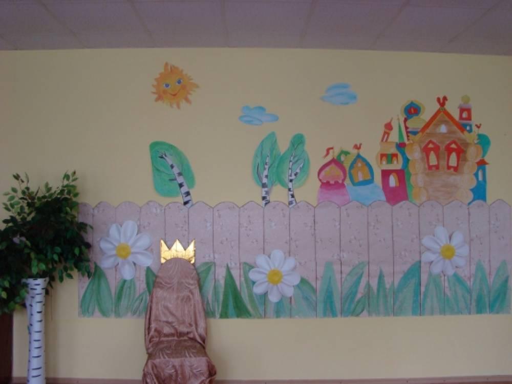 Оформление музыкального зала для детских утренников