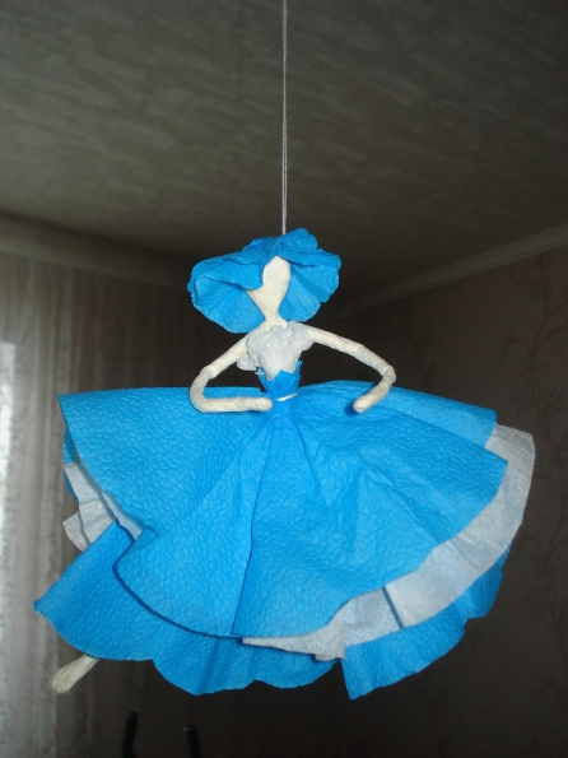 балерины из салфеток фото пума
