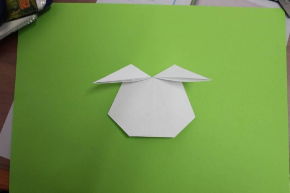 Конспект занятия по оригами в средней группе «Волшебные зайчики ...