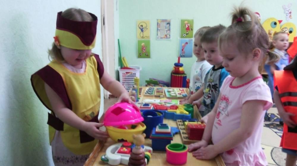 знакомство детей 1 младшей группы с профессиями
