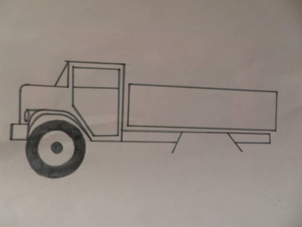 Знакомство с грузовой машиной