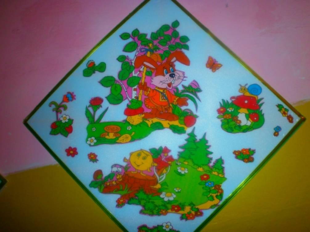 Поделок для детского сада на потолочной плитке