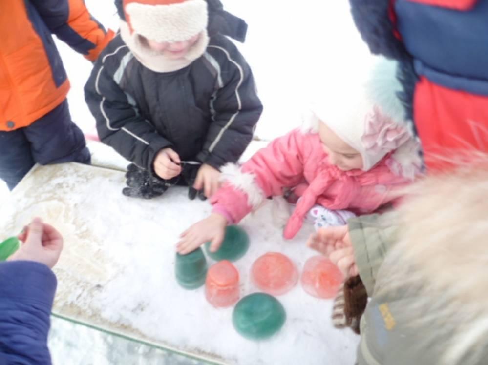 знакомство детей со свойствами воды