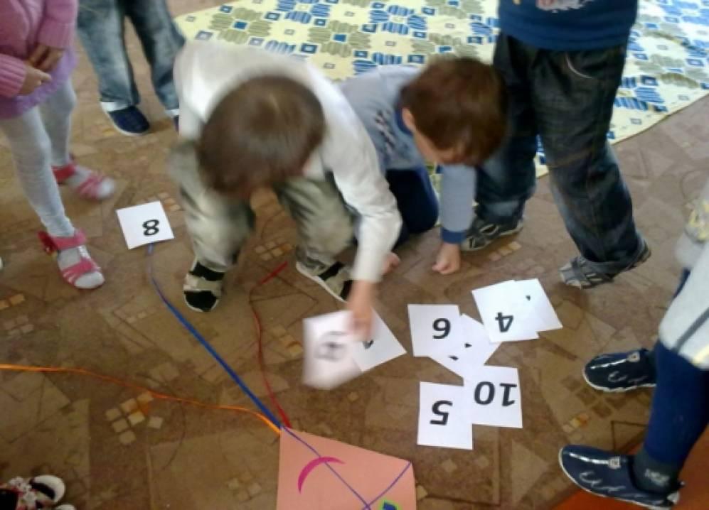 занятия по фэмп в подготовительной группе знакомство с цифрами