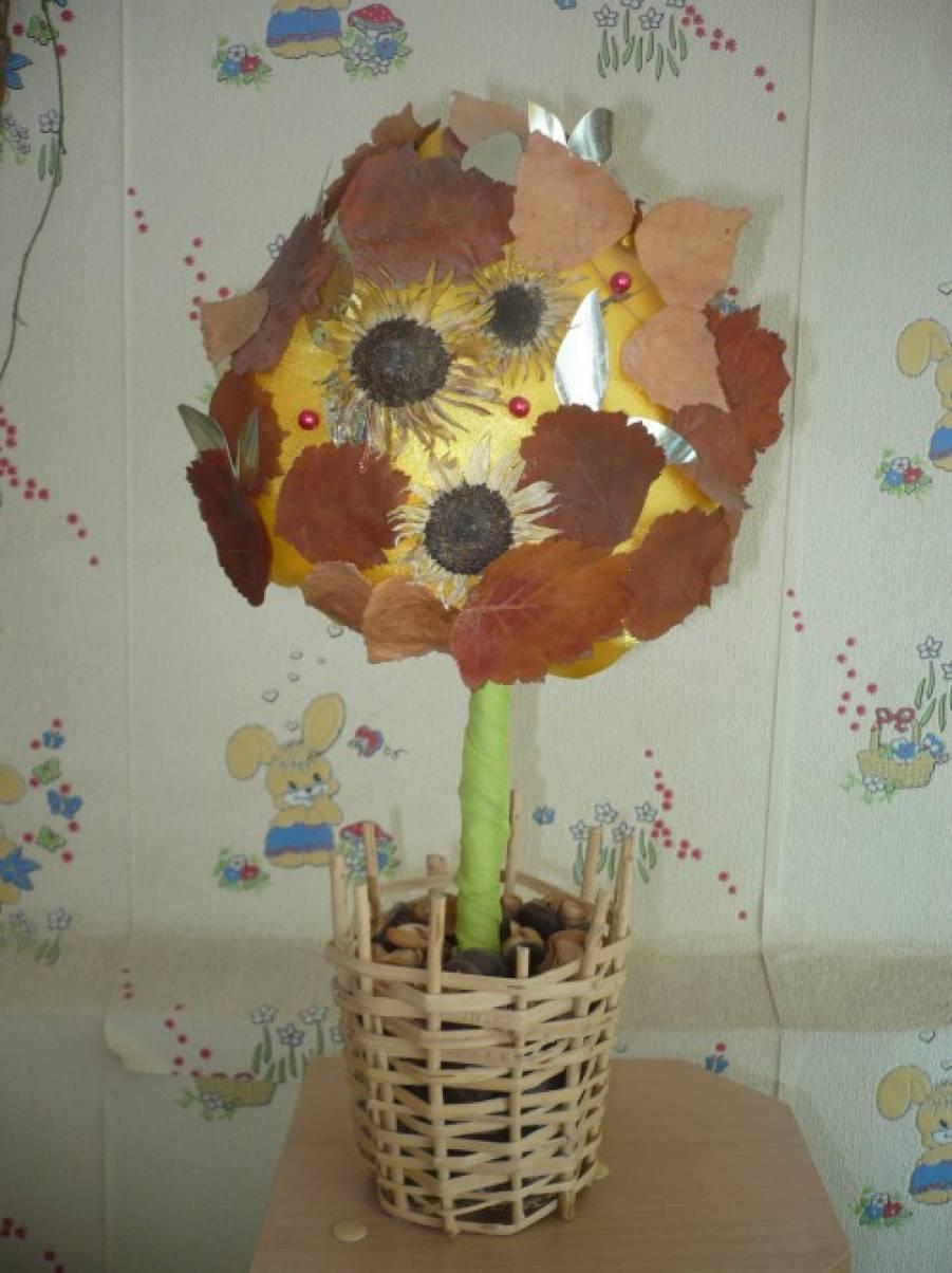 «Волшебница осень!» Выставка поделок и рисунков в средней группе (фотоотчет)