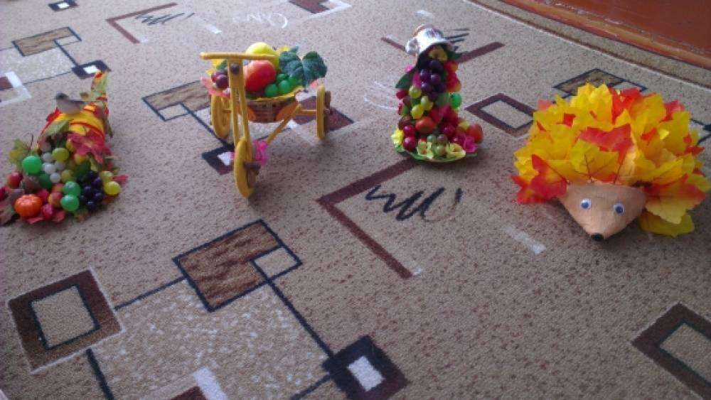 Поделки в детский сад формат а4