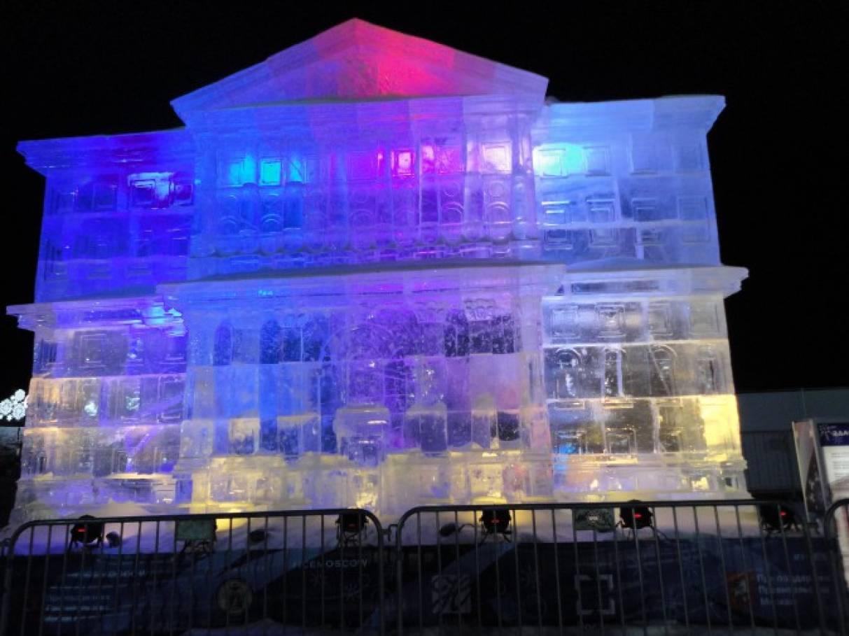 Фотоотчет «Москва новогодняя»