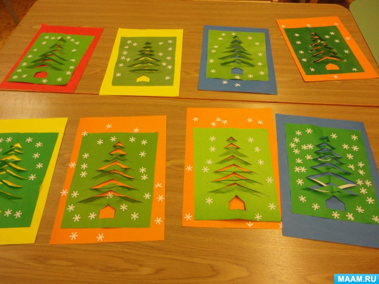 Новогодние открытки к новому году подготовительная группа можете выбрать