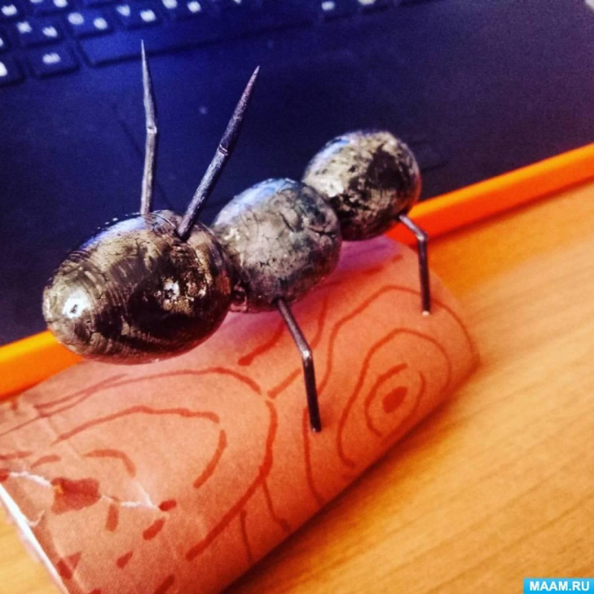 Поделки на тему муравьи 5