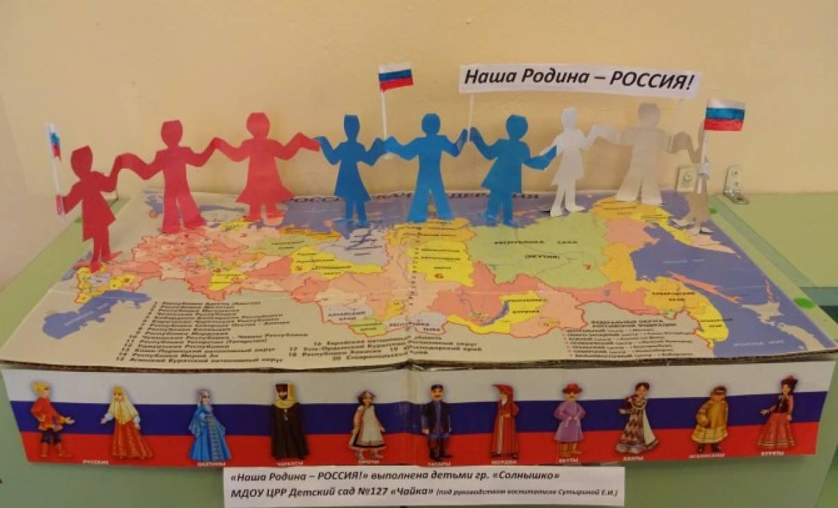 Сценарий праздника день народного единства для подготовительной группы