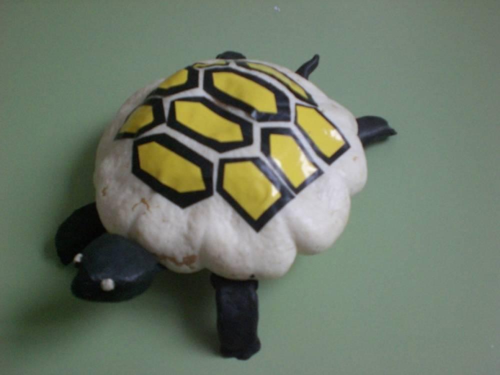 Поделка «Черепаха Тортилла». Воспитателям детских садов 8