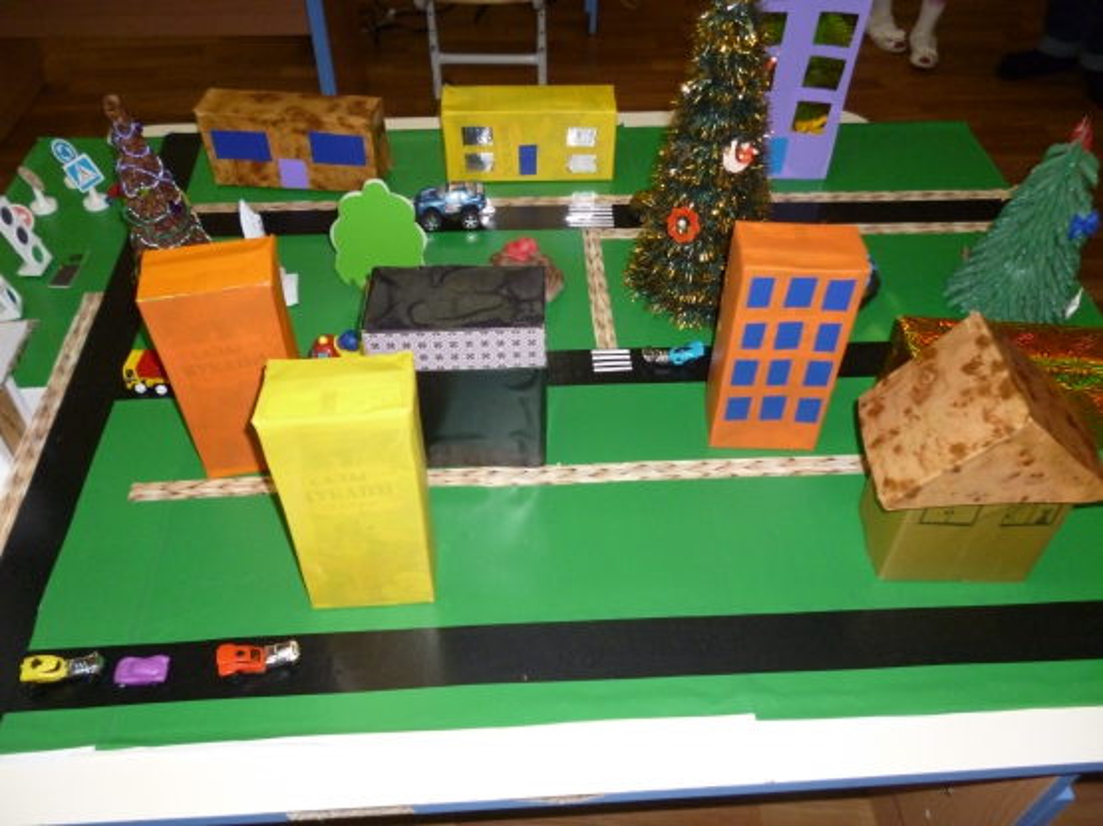 знакомство с городом в детском саду
