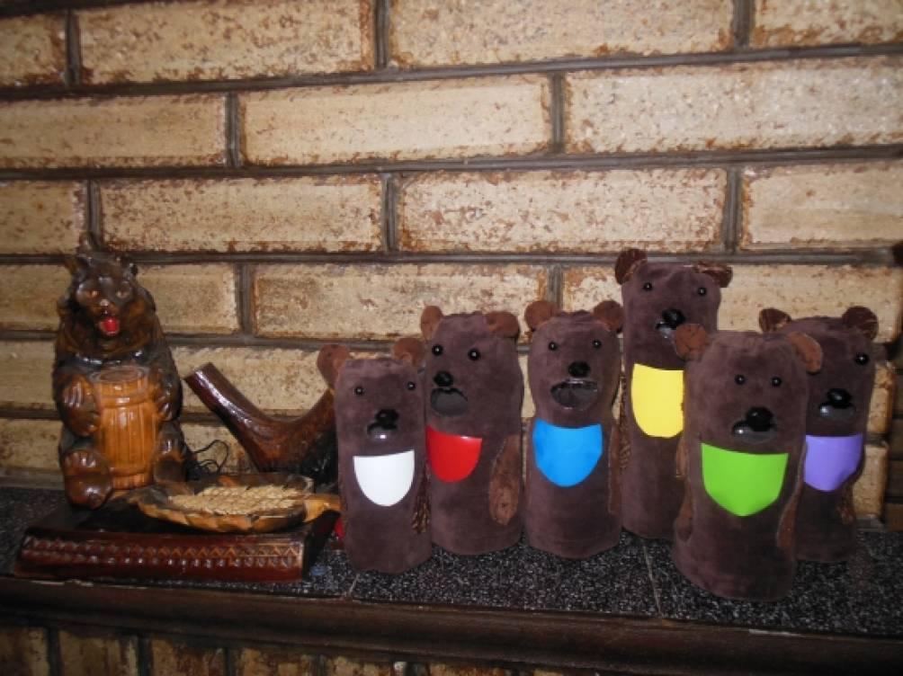 Мастер-класс по изготовлению дидактической игры для детей младшего возраста «Накормите медвежат»
