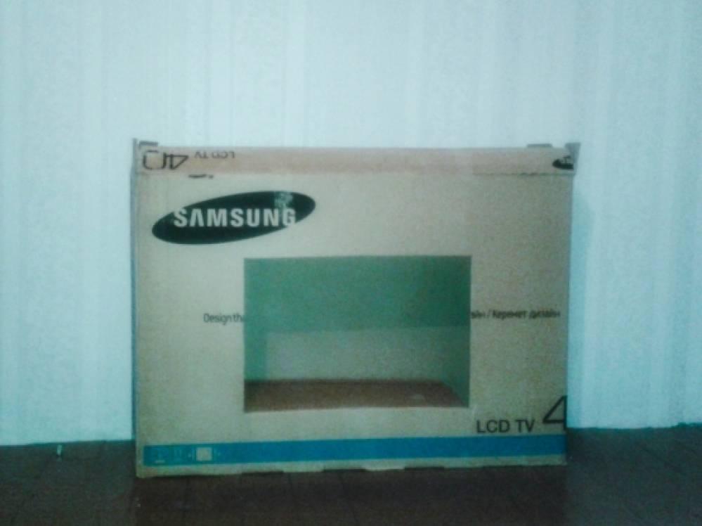 Как сделать телевизор из под коробки 93