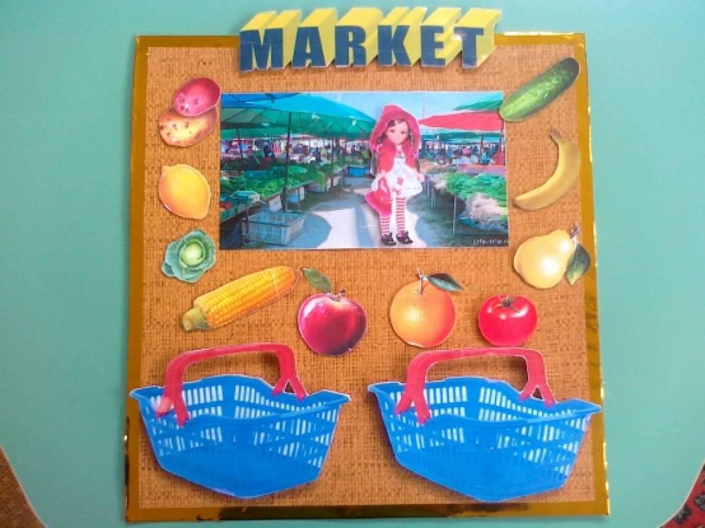 Дидактическая игра по английскому языку «MARKET (рынок)»