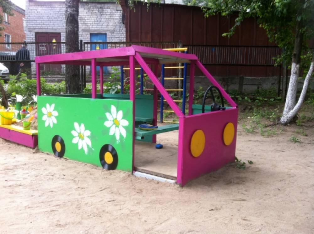 Оборудование для участка в детском саду своими руками