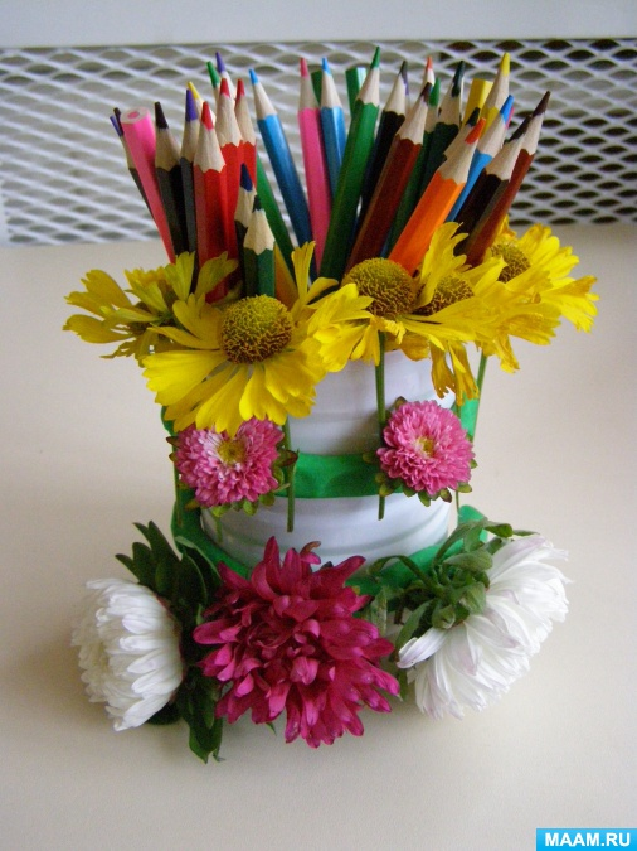 Мастер-класс «Стаканчик для карандашей»