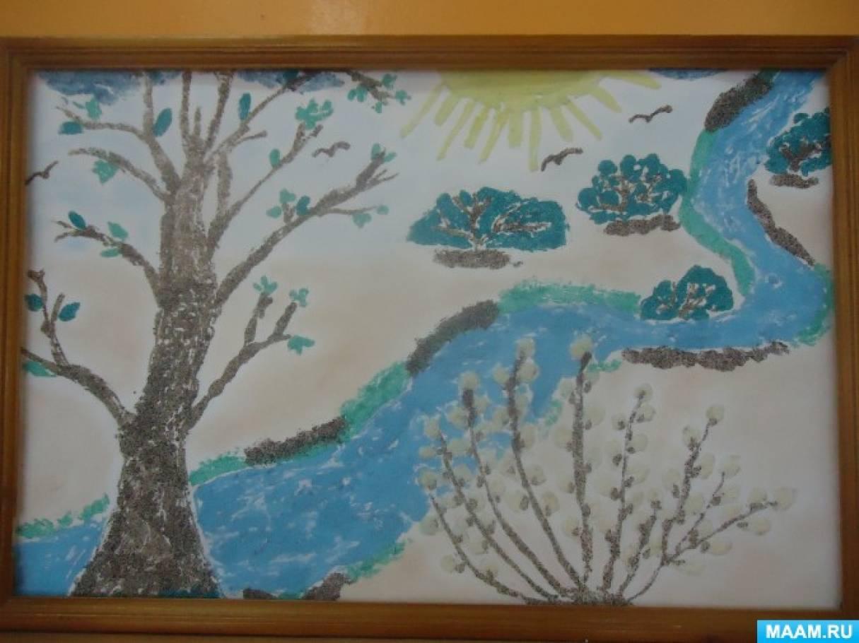 Мастер-класс по изготовлению картины «Весна»