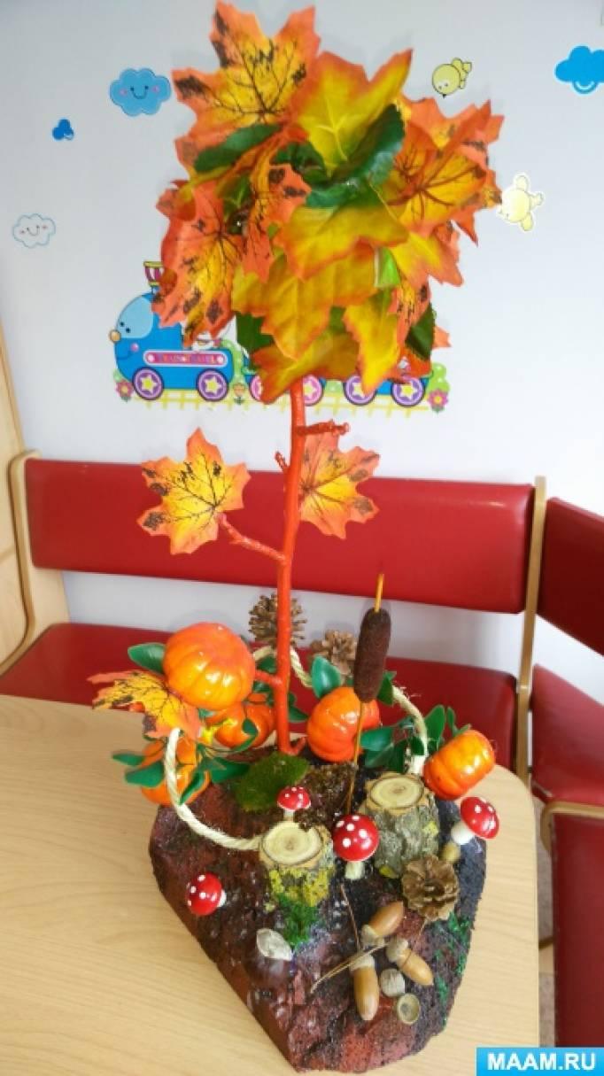 Поделки в детский садик на осень 14