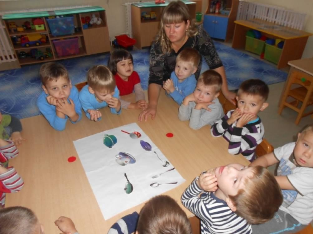 знакомство с профессией воспитателя в старшей группе