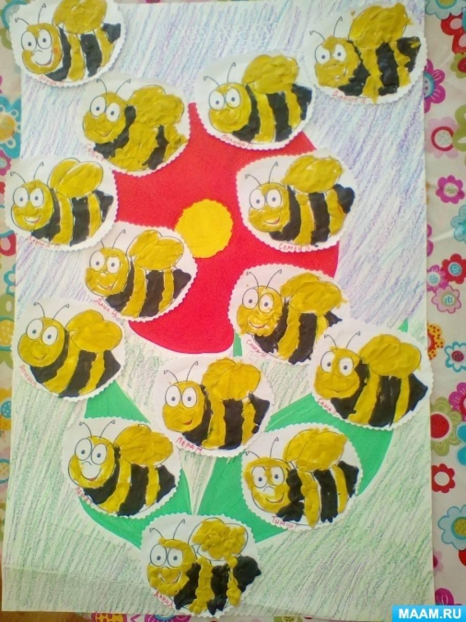 Пчелка лепка старшая группа фотоотчет